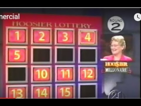 Indiana Lottery Hoosier Millionaire game show