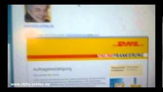 DHL Online Frankierung Geld zurück Rückerstattung Stornieren - Anleitung