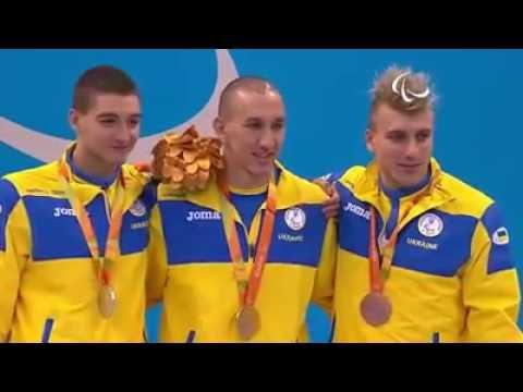 Тройной подиум Украины в плавании