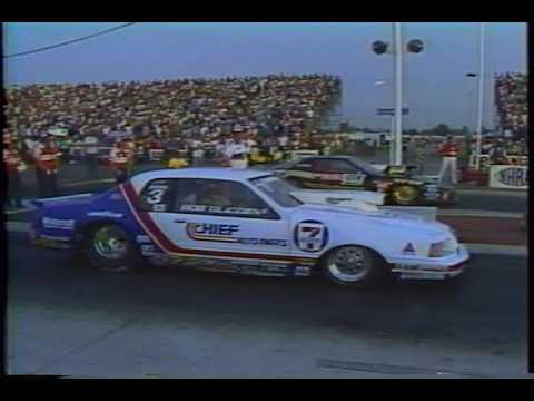 Drag Racing 1984 NHRA World Finals PRO STOCK Final