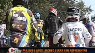 Jacobo Gonzalez BMX bicicross Bogotá entrevista citytv