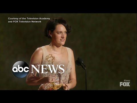 Emmys 2019: Phoebe Waller-Bridge of 'Fleabag' steals the show l ABC News