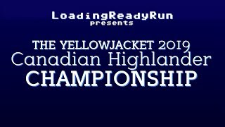 The Yellowjacket 2019 Canadian Highlander Championship