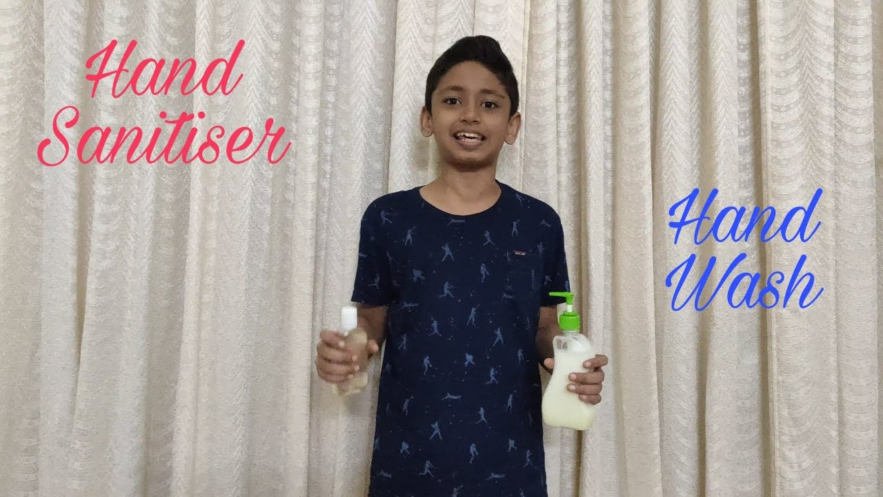 How to make a Hand Sanitiser and Hand Wash in Malayalam | Me and my Village |
