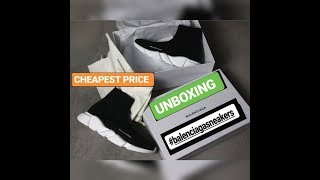 UNBOXING Balenciaga Speed Trainers