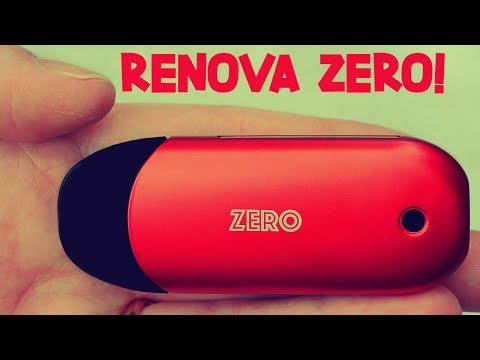 The FIRST Press 'N Fill Refillable Pod System! The Renova