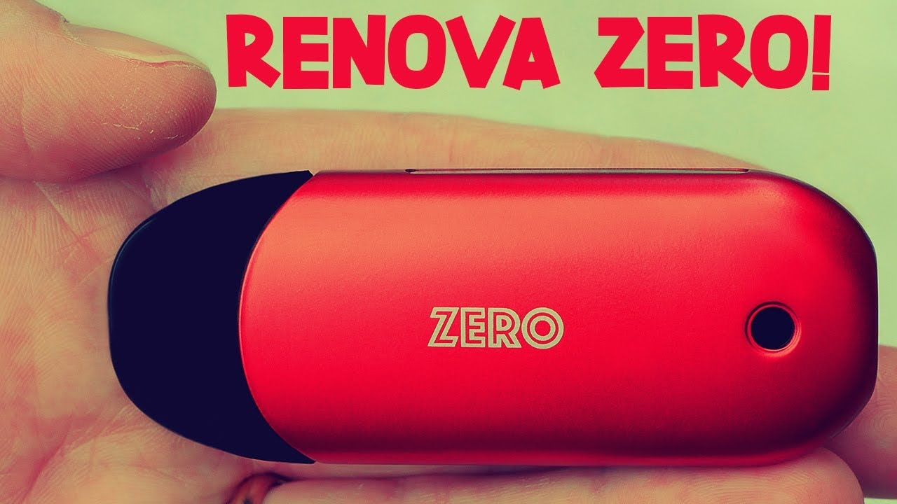 The FIRST Press 'N Fill Refillable Pod System! The Renova Zero!