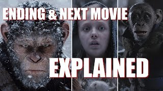 ENDING & NEXT MOVIE EXPLAINED | War for the Planet of the Apes
