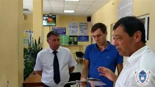 Перевірка МРЕВ ДАІ ГУ МВС РФ р. Абинск 24 липня 2017р.