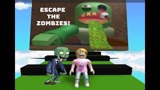 Roblox Escape The Zombies With Molly!
