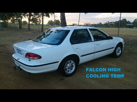My 1995 EF Ford Falcon, Over heating problem - MikeyNZ