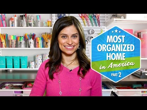 Most Organized Home in America (Part 2) by Professional Orga