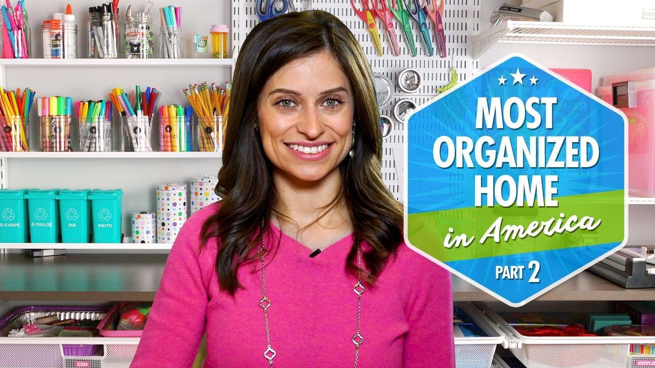 Most Organized Home in America Part 2 by Professional Organizer u0026 Expert Alejandra Costello