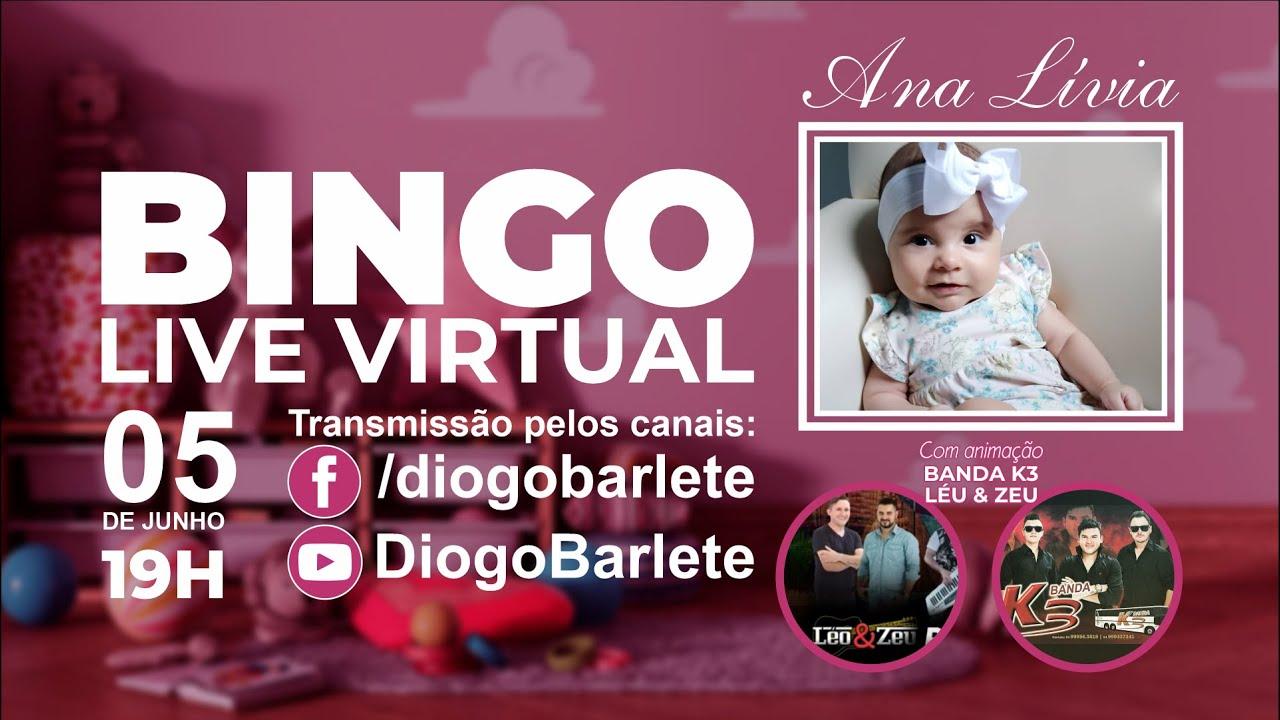 BINGO LIVE VIRTUAL - ANA LÍVIA