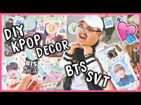 LOVE for KPOP (DIY Room Decor + Phone Case) | KPOPAMOO