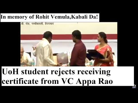 Rohith Vemula - 'The Ambedkar Uprising' - KABALI DA!