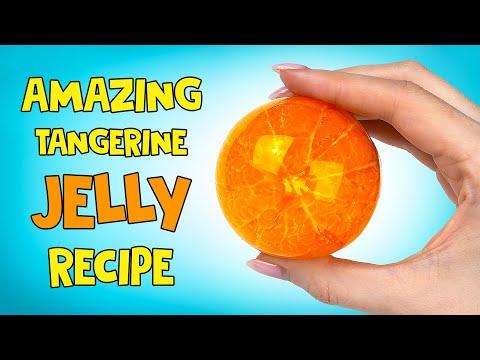 Amazing Tangerine Jelly Recipe 🍊