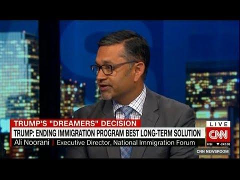 Ali Noorani on CNN International on 9/5/17