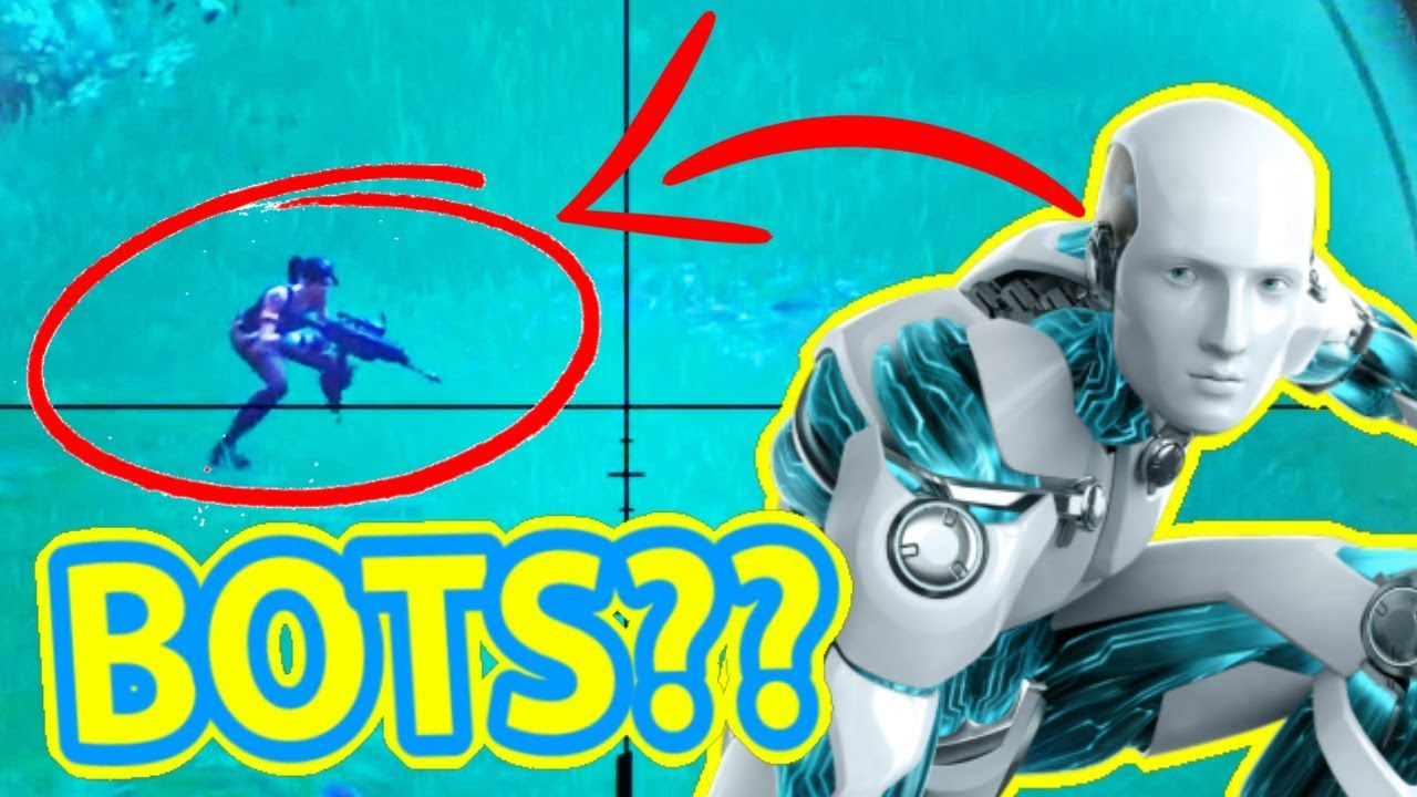 BOTS IN THE GAME??? - Fortnite - YouTube