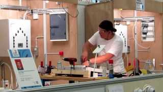 SwissSkills 2014 Bern Elektroinstallateur EFZ Schweizermeister Elektriker