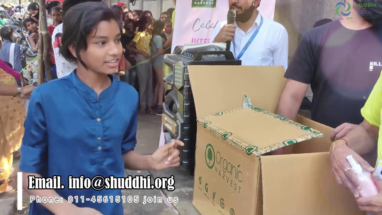 Download Women Day Celebration -  Free Safe Organic Hygiene Gifts. Join SHUDDHI NGO - Make a Difference !