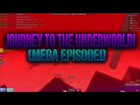 Roblox Azure Mines - Journey To The Underworld (Mega Episode!)