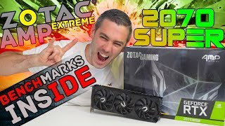 Zotac RTX 2070 Super AMP Extreme Review! [Benchmarks Inside!]
