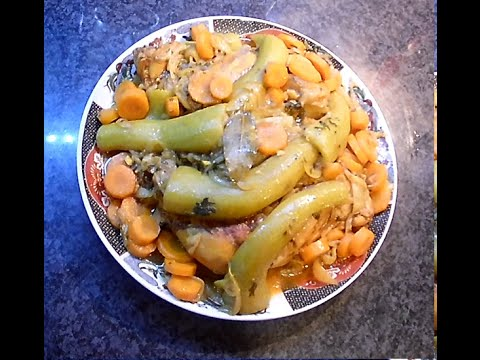 cuisse-de-poulet-au-courge-longue-de-nice-et-carotte