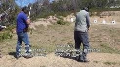 404 Jeffery CZ versus the Blaser R93 416 Remington Magnum Big Game Rifles
