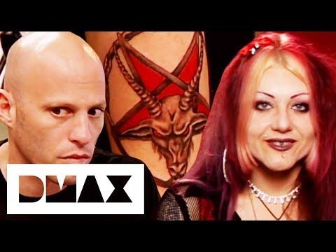 Satan Worshipper Wants Demonic Goat Head Tattoo | Miami Ink