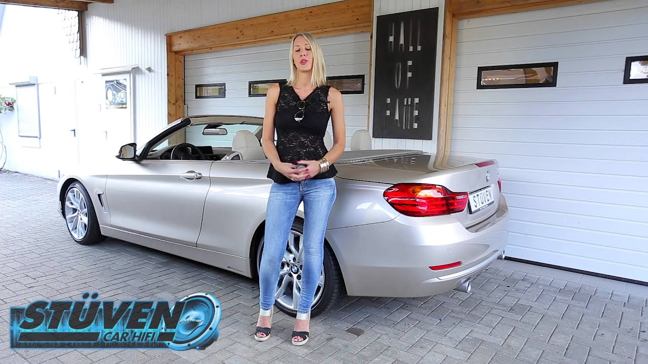bmw 4er 435i cabrio f33 test alarmanlage radarsensor st ven car hifi hamburg youtube. Black Bedroom Furniture Sets. Home Design Ideas