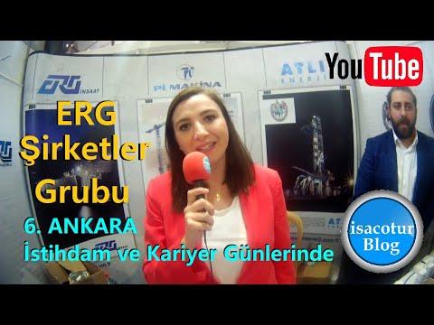 Erg İnşaat - Pİ Makina - Atlı Enerji Ankara 6.İstihdam Fuarı Ve Kariyer Günlerinde