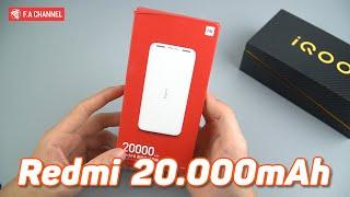Sạc Dự Phòng Xiaomi Redmi 20.000mAh - Giá Rẻ Mà Ngon, Sạc Nhanh 18W Fans Xiaomi Mua Ngay
