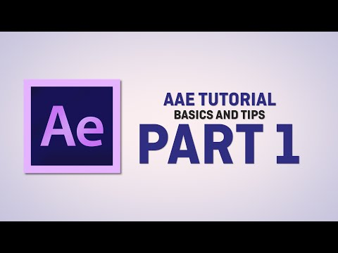 Adobe After Effects Basics and Tips Part 1