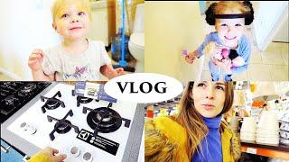 vlog в поисках техники для кухни, мою окна, аквариум - Senya Miro