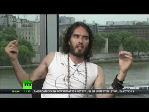 Russell Brand talks austerity & revolution