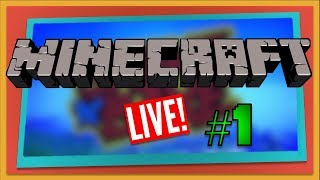 Minecraft Multiplayer Series LIVE - Part 1 (Xbox One)