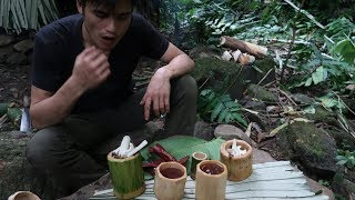 Survival in the tropical rainforest, ep 24, cups and vegetables