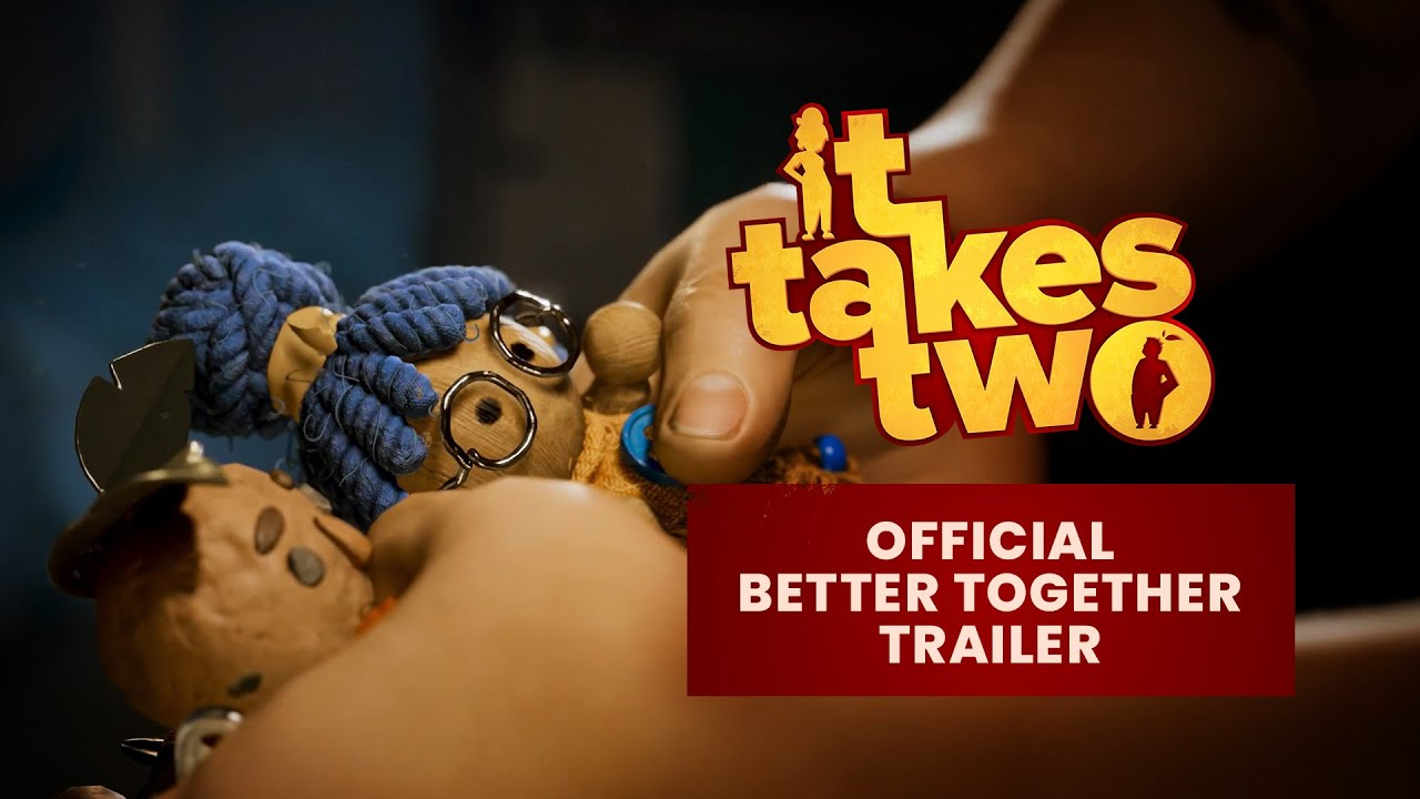 『It Takes Two』「雙人合作,勢在必行」Official trailer