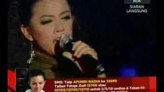 Total Eclipse Of The Heart - Nadia Af6 - Konsert Minggu 10