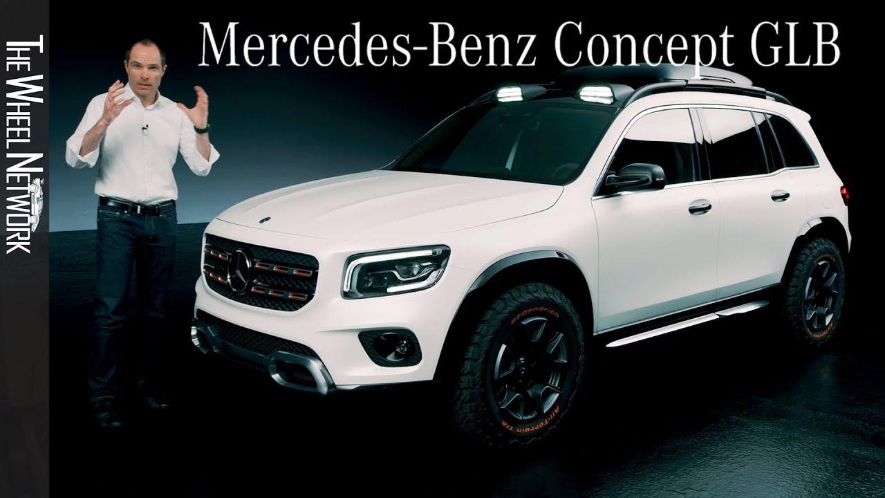 Mercedes-Benz GLB Concept Walk Around - YouTube