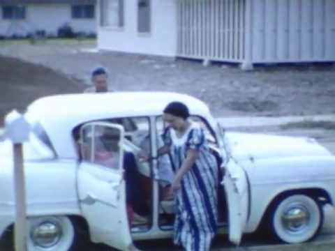 8mm Vintage Film Footage of Hawaii 1959