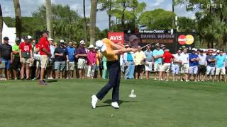 Daniel Berger's swing is analyzed at The Honda Classic