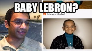 NBA Stars as Babies- Can you guess who they are? (REACTION)