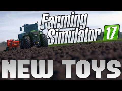 Farming Simulator 2017 - Buying Some New Equipment! - Let's Play Farming Simulator 17 Part 2