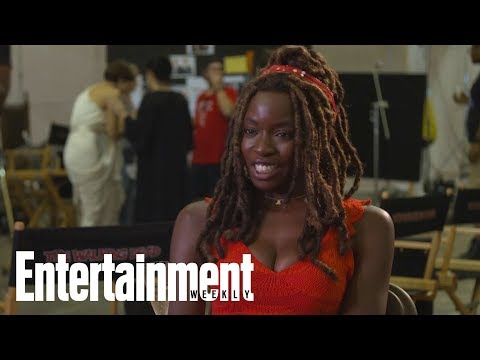 Danai Gurira Says She Overheated On Her First Day Of 'The Walking Dead'  Entertainment Weekly