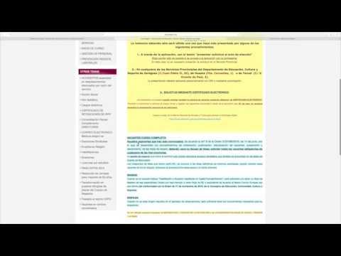 Conociendo Educaragón - YouTube