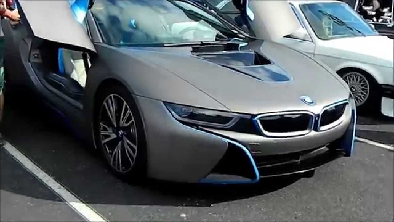 Bmw I8 First View And Engine Sound Youtube