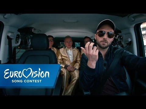 Måns Zelmerlöw pretends to be a cabdriver | Prank | Eurovision Song Contest