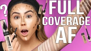 WORLD'S BEST NEW DRUGSTORE CONCEALER?!?! TESTED!!